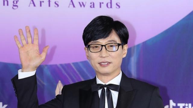 """[2021 백상예술대상] 유재석, TV 부문 대상 """"난 91년도 데뷔한 개그맨"""""""