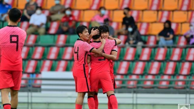 한국 U-23 대표팀, 필리핀에 3-0 완승…황선홍 감독 데뷔전서 승리